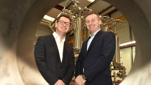 Kevin Whooley, managing director at Flow Technology and Cillian McCarthy, CEO of Paradyn