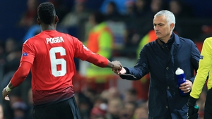 Paul Pogba and the former United boss