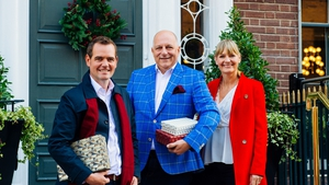 Celebrity Home of the Year 2018, judges Peter Crowley, Hugh Wallace and Deirdre Whelan