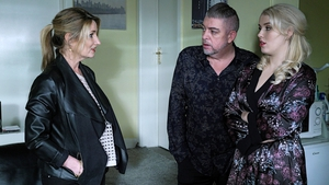 Sparks fly between Carol and Hayley this week on Fair City
