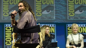 "Jason Momoa says working with Nicole Kidman was ""surreal"""