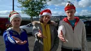 The Young Offenders Christmas special looks like a treat