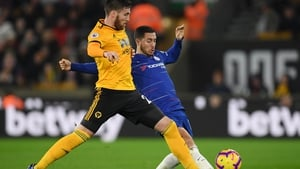 Matt Doherty (L) set up Wolves' winner