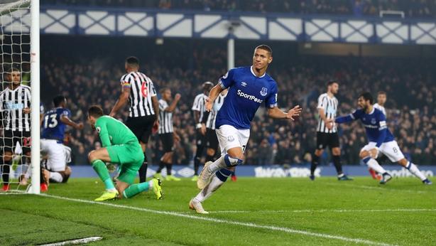 Richarlison scored Everton's equaliser