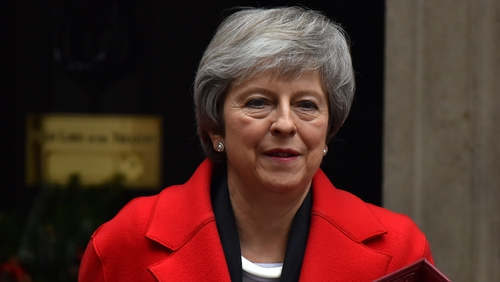 Theresa May said some MPs are trying to frustrate Brexit