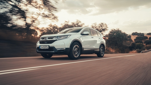 Honda S New Cr V Is Described As An Electric Car With A Petrol Engine