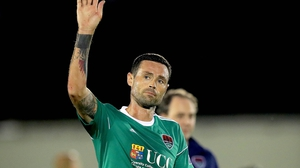 """Damien Delaney: """"The chance to play European football at Turner's Cross was a big box ticked for me."""""""