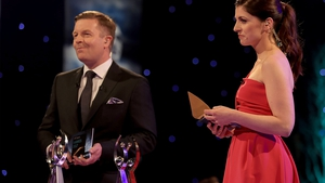 Darragh Maloney and Joanne Cantwell present the RTÉ Sport Awards 2020