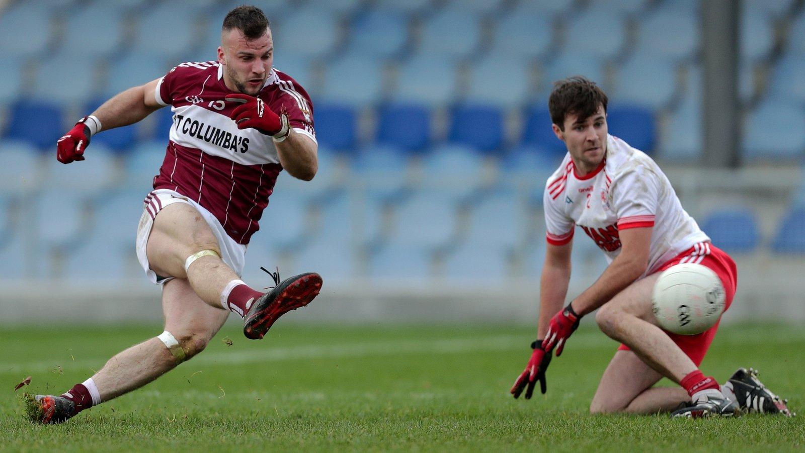 Image - Aidan McElligott scoring a goal against Éire Óg