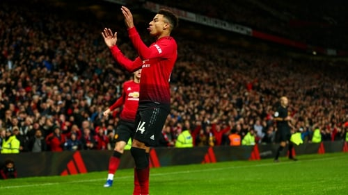 Jesse Lingard scored his first United goal of the season when securing Wednesday's 2-2 draw at home to Arsenal.
