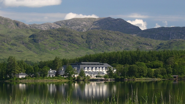 A view of Harvey's from Lough Eske