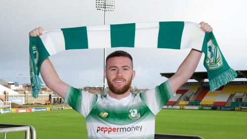 Jack Byrne has returned to Ireland with Shamrock Rovers