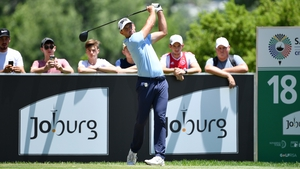 Charl Schwartzel carded a 63 to take the lead in South Africa