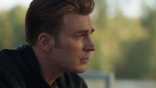 Chris Evans in The Avengers: Endgame trailer