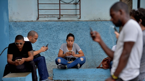 From this week, Cubans were able to access the internet on their mobile phones