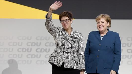 Annagret Kramp-Karrenbauer Steps Down As Leader Of The CDU