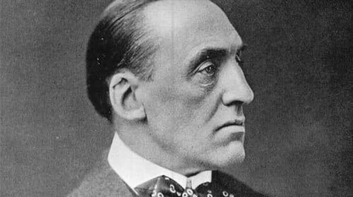 Edward Carson, the Unionist leader who was returned as MP for the Belfast Duncairn constituency in 1918.