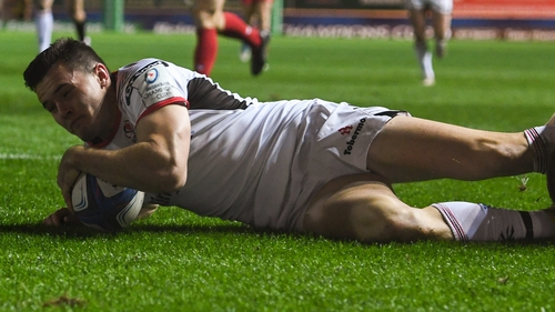 Jacob Stockdale is back for Ulster