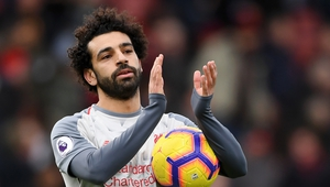 'Whatever you do in a football game you need someone to finish it off, and what Mo did around his two goals in the second half is just exceptional,' says Klopp