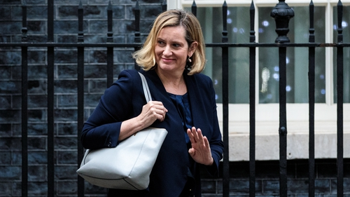 UK Work and Pensions Secretary  Amber Rudd says it's better to delay Brexit than crash out