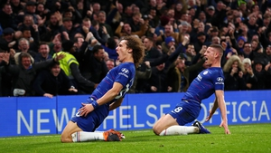 David Luiz clinched it for Chelsea