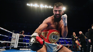 Jono Carroll is making his way back towards another world title bout