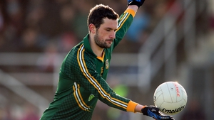 Mickey Newman returned to action with Meath