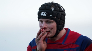 Clontarf suffered a 12-16 defeat to Dublin University