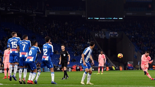 Football in Spain ceased in the second week in March