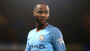Raheem suffered alleged racist abuse during Manchester City's 2-0 defeat at Chelsea