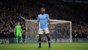 Raheem Sterling was subjected to abuse during Manchester City's loss to Chelsea at Stamford Bridge on Saturday