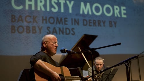 Christy Moore performs at Sunday Miscellany's 50th anniversary celebrations