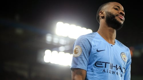 Raheem Sterling was the target of vitriolic abuse from Chelsea fans