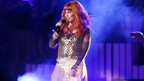 Cher - begins her US tour in Florida