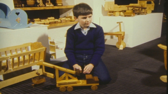 Kieran Furlong Toy Maker Exhibition 1983