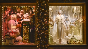 From the Brown Thomas Christmas window display in Dublin 2016. Photo: Artur Widak/NurPhoto via Getty Images
