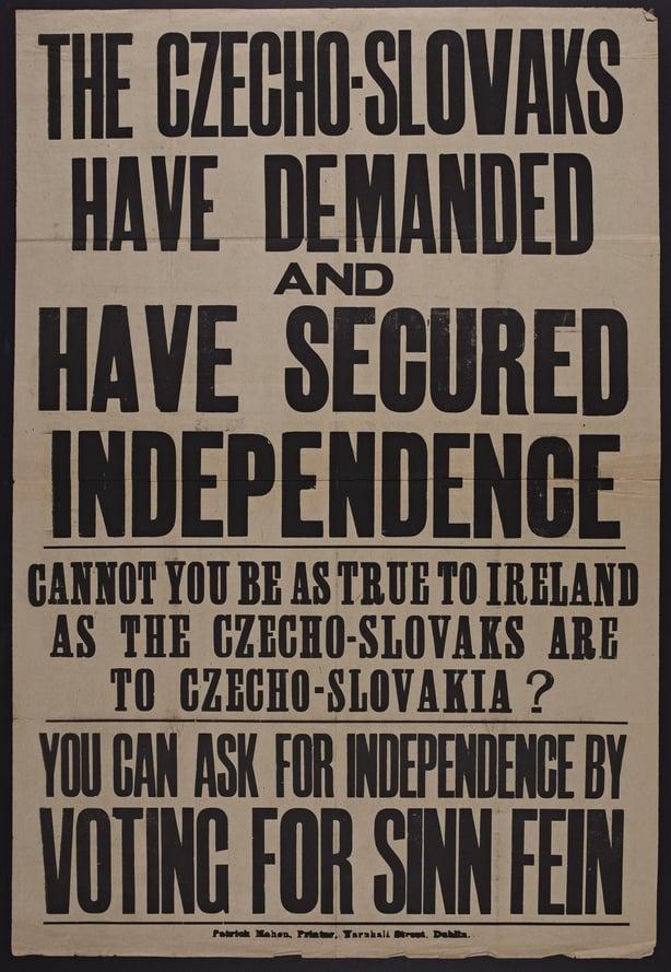 Sinn Féin poster