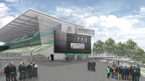 The planned new Sportsground
