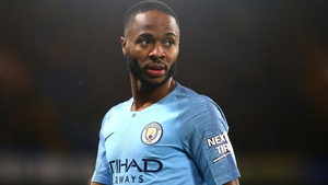 'I did feel a lot more pressure than when I'm here' - Raheem Sterling
