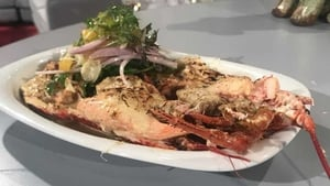 Niall Sabongi's Classic Lobster Thermidor.