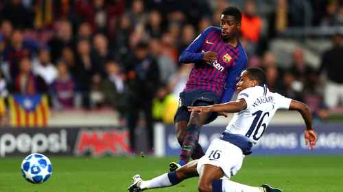 Ousmane Dembele: Barcelona winger sidelined for six months after surgery