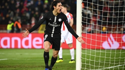 PSG into Champions League last 16 after thrashing Red Star