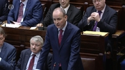Micheál Martin said Ireland is in a period of heightened danger