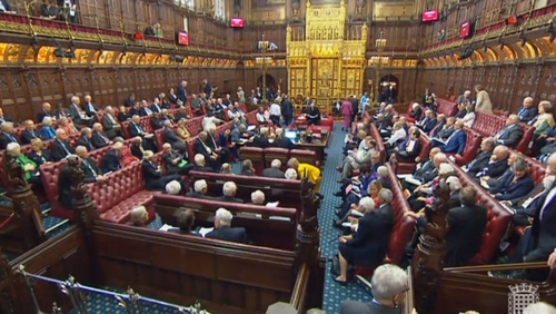 The House of Lords committee accused the UK govt of making 'seemingly contradictory statements'