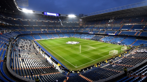 The Bernabeu is Real Madrid's home ground