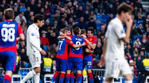 CSKA Moscow did the double over Madrid