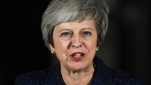 Vote of no Confidence in Theresa May