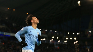 Leroy Sane featured as a substitute in the 5-0 win over Burnley last Monday in what was his first Premier League appearance of the season