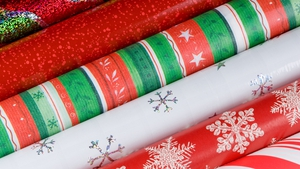 Not all wrapping paper is recyclable!