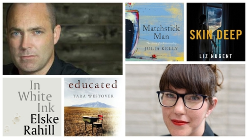 Sinead's picks include books by Donal Ryan (top left) and Emilie Pine (bottom right)